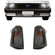 Lanterna Dianteira Pisca Chevrolet Chevette 1983 em Diante Ambar Lado Esquerdo