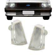 Lanterna Dianteira Pisca Chevrolet Chevette 1983 em Diante Cristal Lado Direito