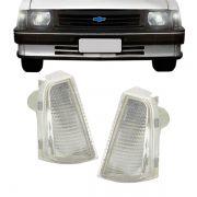 Lanterna Dianteira Pisca Chevrolet Chevette 1983 em Diante Cristal Lado Esquerdo
