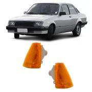 Lanterna Dianteira Pisca Chevrolet Chevette Marajó 1983 a 1993 Ambar Lado Direito