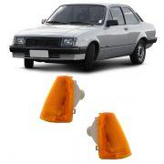 Lanterna Dianteira Pisca Chevrolet Chevette Marajó 1983 a 1993 Ambar Lado Esquerdo