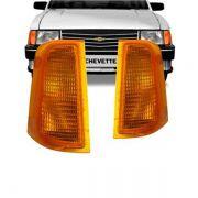 Lanterna Dianteira Pisca Chevrolet Chevette Marajó Chevy 500 1983 a 1993 Ambar Lado Esquerdo