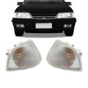 Lanterna Dianteira Pisca Chevrolet Monza 1982 a 1987 Cristal Lado Esquerdo