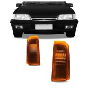 Lanterna Dianteira Pisca Chevrolet Monza 1988 a 1990 Ambar Lado Direito