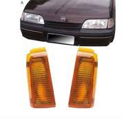 Lanterna Dianteira Pisca Chevrolet Monza 1988 a 1990 Ambar Lado Esquerdo