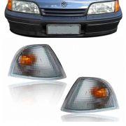Lanterna Dianteira Pisca Chevrolet Monza SL SLE 1991 em Diante Cristal Lado Esquerdo
