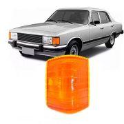 Lanterna Dianteira Pisca Chevrolet Opala Caravan 1980 a 1987 D20 D40 Veraneio 1986 a 1992 Ambar Lado Esquerdo