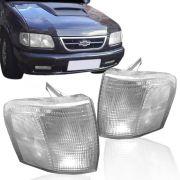 Lanterna Dianteira Pisca Chevrolet S10 Blazer 1995 a 1999 Cristal Lado Esquerdo