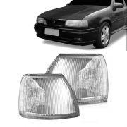 Lanterna Dianteira Pisca Chevrolet Vectra até 1996 Cristal Lado Esquerdo