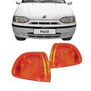 Lanterna Dianteira Pisca Fiat Palio Siena Palio Weekend 1996 a 2000 Ambar Lado Esquerdo