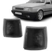 Lanterna Dianteira Pisca Fiat Uno Premio Fiorino 1991 em Diante Fume Lado Direito