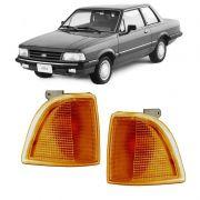 Lanterna Dianteira Pisca Ford Corcel Belina Del Rey Pampa 1985 em Diante Ambar Lado Esquerdo