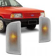 Lanterna Dianteira Pisca Ford Corcel Belina Del Rey Pampa 1985 em Diante Cristal Lado Esquerdo