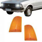 Lanterna Dianteira Pisca Ford Corcel Belina II 1978 a 1983 Ambar Lado Direito