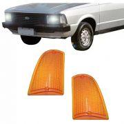 Lanterna Dianteira Pisca Ford Corcel Belina II 1978 a 1983 Ambar Lado Esquerdo