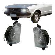 Lanterna Dianteira Pisca Ford Corcel Belina II 1978 a 1983 Cristal Lado Esquerdo
