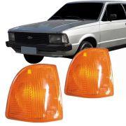 Lanterna Dianteira Pisca Ford Corcel II 1985 em Diante Ambar Lado Direito