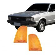 Lanterna Dianteira Pisca Ford Corcel II Belina II Del Rey Scala Pampa 1985 em Diante Ambar Lado Esquerdo
