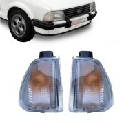 Lanterna Dianteira Pisca Ford Escort 1982 a 1986 Cristal Lado Direito