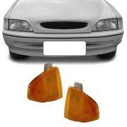 Lanterna Dianteira Pisca Ford Escort 1993 a 1996 Ambar Lado Esquerdo
