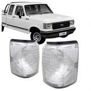 Lanterna Dianteira Pisca Ford F1000 F4000 1992 a 1997 Cristal Lado Esquerdo
