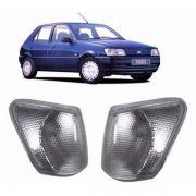 Lanterna Dianteira Pisca Ford Fiesta Importado Todos os Anos Cristal Lado Direito