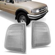 Lanterna Dianteira Pisca Ford Ranger até 1997 Cristal Lado Esquerdo