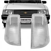 Lanterna Dianteira Pisca Gm Chevette Marajó Chevy 1983 a 1993 Cristal Lado Direito 88092