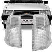 Lanterna Dianteira Pisca Gm Chevette Marajó Chevy 1983 a 1993 Cristal Lado Esquerdo 88091