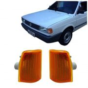 Lanterna Dianteira Pisca Volkswagen Gol 1000 1995 em Diante Ambar Lado Direito