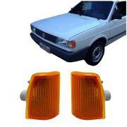Lanterna Dianteira Pisca Volkswagen Gol 1000 1995 em Diante Ambar Lado Esquerdo