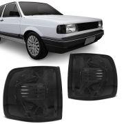 Lanterna Dianteira Pisca Volkswagen Gol Parati Saveiro 1987 a 1990 Fume Lado Direito
