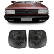 Lanterna Dianteira Pisca Volkswagen Gol Voyage Parati 1991 a 1994 Fume Lado Direito