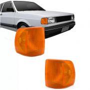 Lanterna Dianteira Pisca Volkswagen Gol Voyage Parati Saveiro 1000 1991 a 1994 Ambar Lado Direito