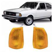 Lanterna Dianteira Pisca Volkswagen Passat 1979 a 1982 Ambar Lado Direito