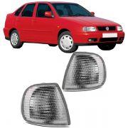 Lanterna Dianteira Pisca Volkswagen Polo Classic Cordoba 1997 em Diante Cristal Lado Esquerdo