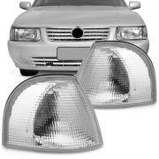 Lanterna Dianteira Pisca Volkswagen Quantum Santana 1998 em Diante Cristal Lado Esquerdo