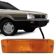 Lanterna Dianteira Pisca Volkswagen Quantum Santana GLS 1987 a 1990 Ambar Lado Esquerdo