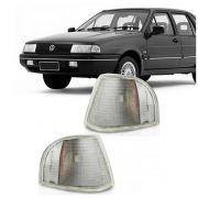 Lanterna Dianteira Pisca Volkswagen Santana 1996 a 1998 Cristal Lado Direito