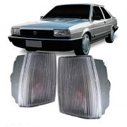 Lanterna Dianteira Pisca Volkswagen Santana CS CG CD GL 1986 em Diante Cristal Lado Direito