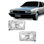 Lanterna Dianteira Pisca Volkswagen Santana Quantum até 1990 Cristal Lado Esquerdo