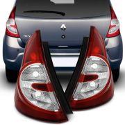 Lanterna Traseira Bicolor Renault Sandero 2008 a 2011 Lado Direito
