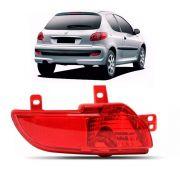 Lanterna Traseira de Neblina Peugeot 207 2008 a 2013 Lado Esquerdo