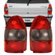 Lanterna Traseira Fiat Palio Weekend 1996 a 2000 Ré Fumê Lado Direito 252431