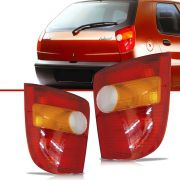 Lanterna Traseira Tricolor Cibie Fiat Palio 1996 a 2000 Lado Direito
