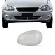 Lente do Farol Principal Chevrolet Corsa 1994 a 1999 Esquerda