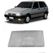 Lente do Farol Principal Fiat Uno Prêmio Elba Fiorino 1991 a 1995 Agrale 1991 em Diante Esquerdo