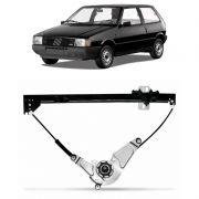 Maquina de Vidro Elétrica Dianteira Fiat Uno 1985 em Diante Premio 1986 a 1996 Fiorino 1982 em Diante 4 Portas Sem Motor Direito