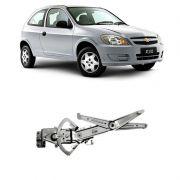 Máquina de Vidro Elétrico Chevrolet Celta 2000 em Diante Prisma 2006 a 2012 4 Portas Direito sem Motor