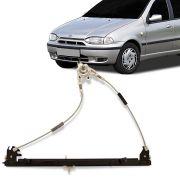Máquina do Vidro Dianteiro Fiat Palio Strada G1 2 Portas 1996 a 2012 Lado Direito